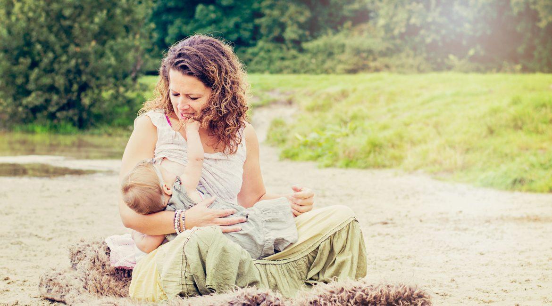 Borstvoedingsreportage Charlot